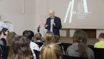 Literaturtage: Lesung für Kinder mit Lukas Hartmann und Ninon Ammann
