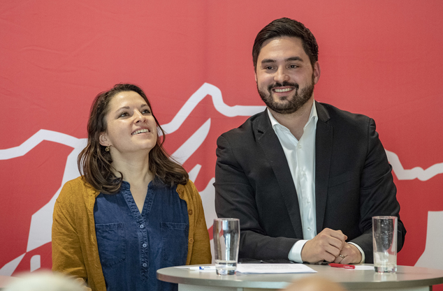 Mattea Meyer und Cédric Wermuth.