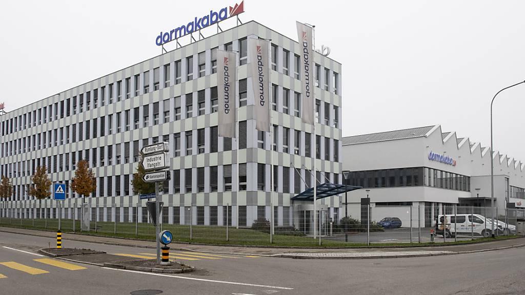 Dormakaba macht nach Corona-Einbruch wieder mehr Gewinn