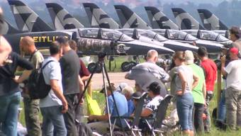 Plane-Spotter an der Air14.