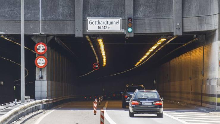 Am Gotthard soll ein zweiter Strassentunnel gebaut werden - mit Aargauer Beteiligung