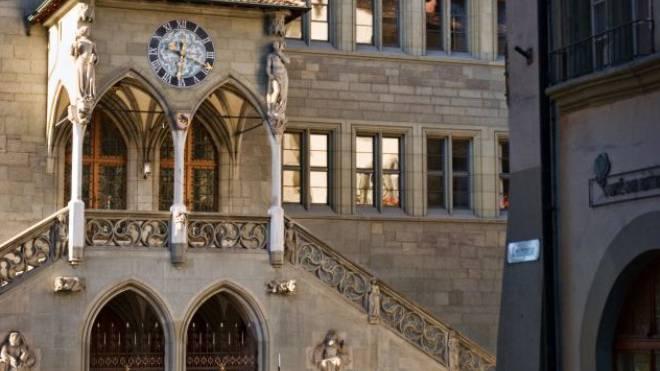 Das Berner Rathaus, Sitz der Kantonsregierung. Foto: ho/Richard Cassani