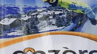 Ausschnitt aus einem Plakat: In Anzère findet die diesjährige Wintersport-WM der Transplantierten statt (Symbolbild)