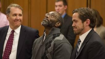 Ricky Jackson bei der Urteilsverkündung am 20. November 2014