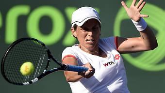 Romina Oprandi musste sich im Final geschlagen geben
