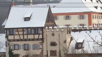 Die Anlagen des insolventen Schlosshotels Beuggen. Archiv