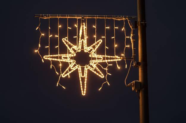 Neue Weihnachtsbeleuchtung in Laupersorf