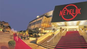 Netflix muss draussen bleiben: Im Palais de Cannes finden während der Filmfesstpiele vom 8. bis 19. Mai die grossen Premieren statt.
