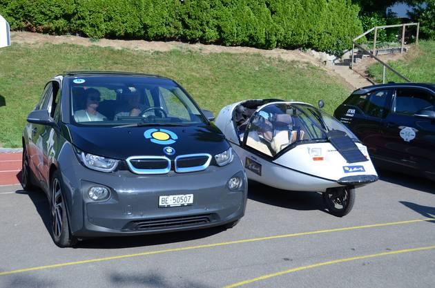 Für die Besucher gab es Dutzende Elektromobile zu bestaunen.