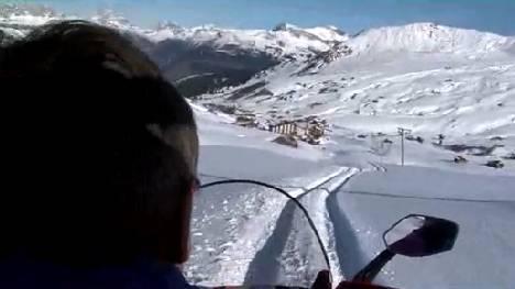 Wie eine Familie ein ganzes Skigebiet unterhält