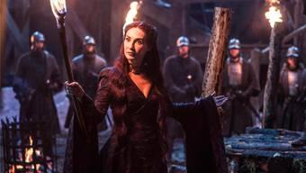 Lady Melisandre (Carice van Houten) in «Game of Thrones»: Die undurchsichtige Priesterin opfert Menschen einem Gott des Feuers.