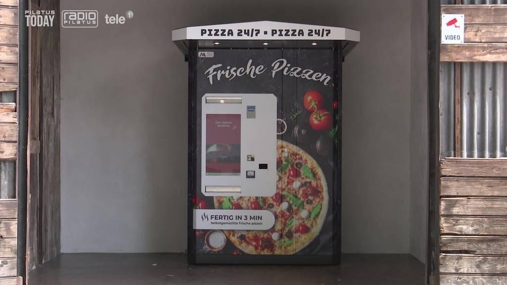 So schmeckt die Pizza aus dem Automaten