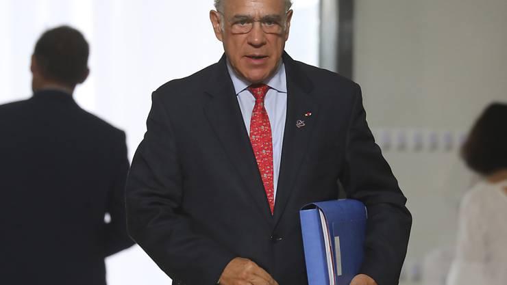 Wenn die Besteuerung der meisten umweltschädlichen Brennstoffe bei Null liege, bestehe auch kaum Anreiz zur Veränderung, erklärte OECD-Generalsekretär José Angel Gurría. (Archivbild)