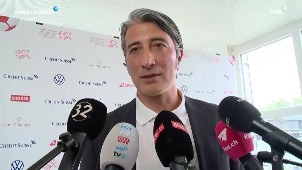 Murat Yakin wird offiziell als Nati-Trainer vorgestellt