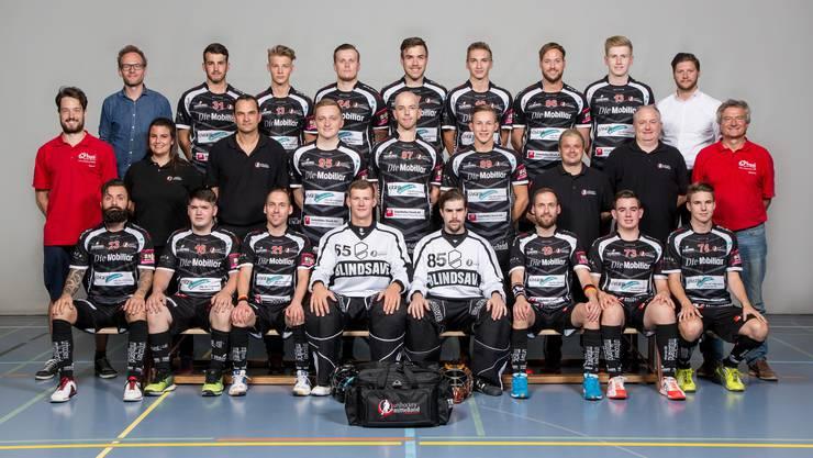 Teamfoto Unihockey Mittelland NLB