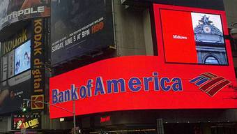 Bank of America am Times Square in New York