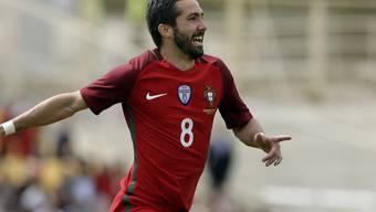 João Moutinho erzielte gegen Zypern gleich zwei Tore