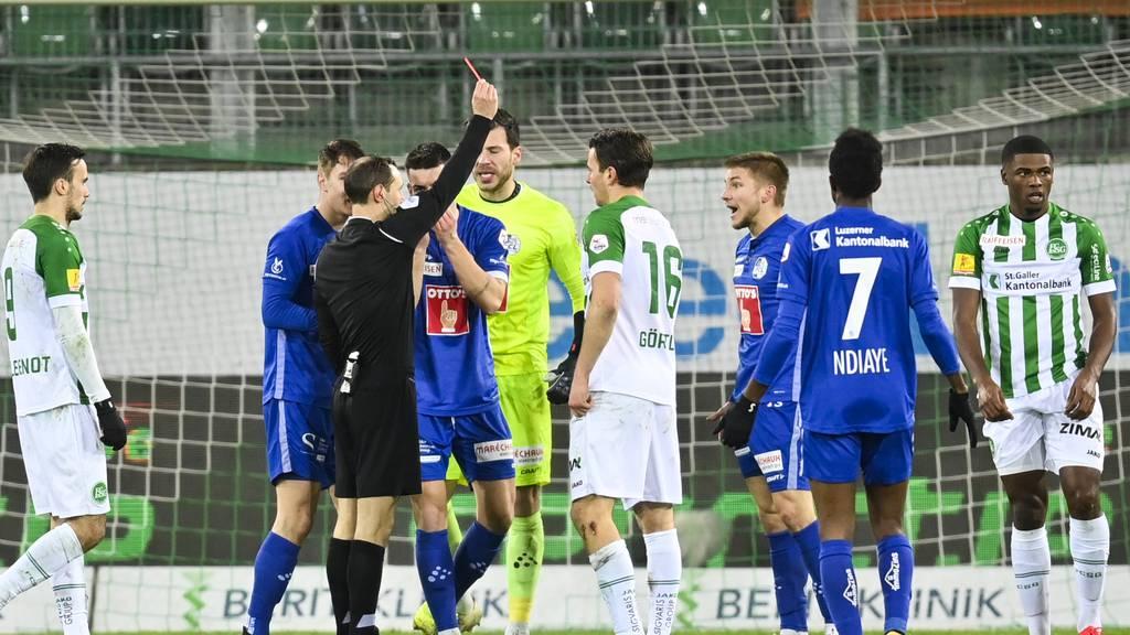 Luzern verliert Frydek und das Spiel gegen St.Gallen