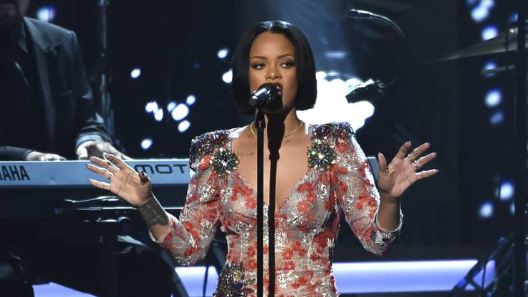 Rihanna hilft Puma auf den Sprung. (Archivbild).