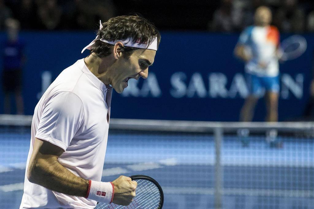 Federer an den Swiss Indoors
