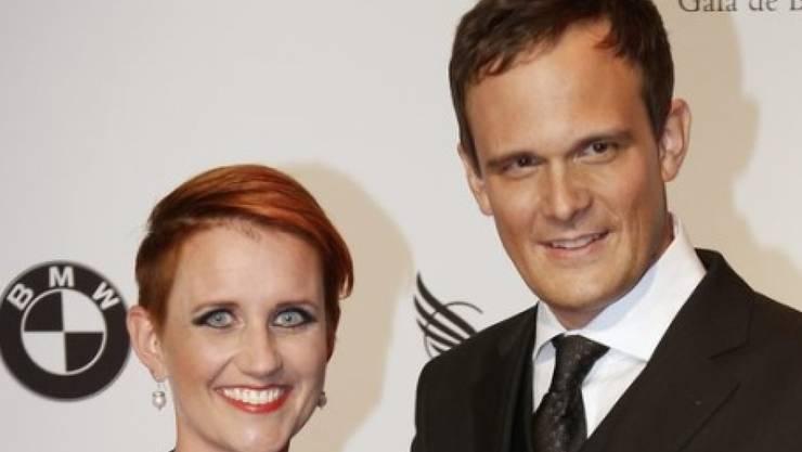 Steffi Buchli und Florian Kohler werden Eltern (Archiv)
