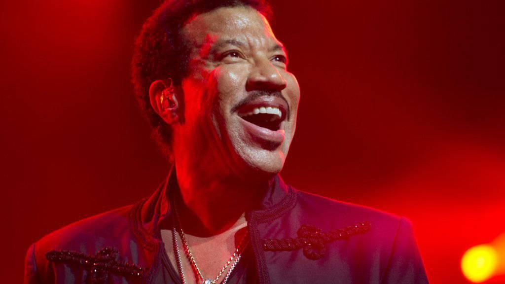 Lionel Richie in Montreux, jetzt ist er aber auch ganz gern Grossvater (Archiv)