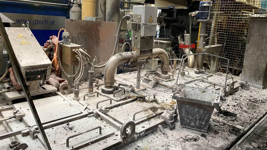 Feuer in Produktionshalle ausgebrochen – Sachschaden von 20'000 Franken
