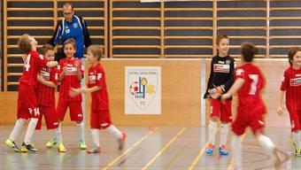 Hallenturnier des FC Oetwil-Geroldswil trafen sich in Weiningen die regionalen E- und F-Teams