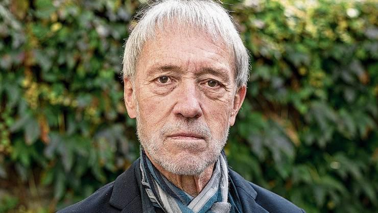 Der 73-jährige Urs Faes wurde vor drei Jahren für den Schweizer Buchpreis nominiert.