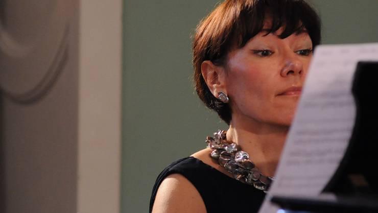 Liebt Mozart: Die Pianistin Gala Gurinovich lebt seit einem Jahr in Baden. Tabea Baumgartner