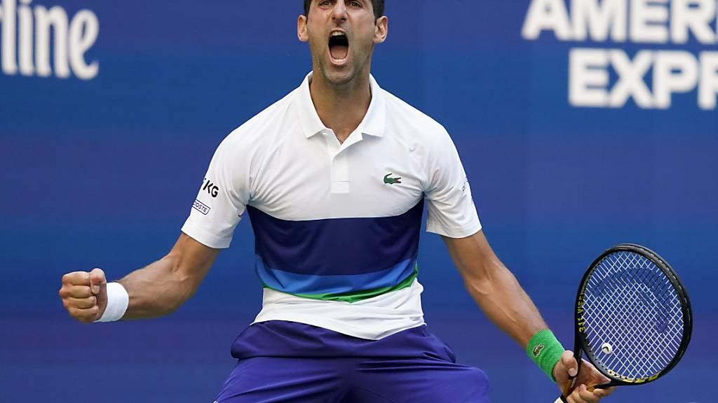 Novak Djokovic fehlen noch vier Siege zum Grand Slam