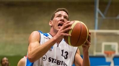 Marco Lehmann (im Bild) macht beim Cupsieg in Bern 18 Punkte. (Archiv)