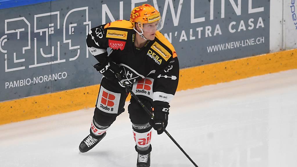 Daniel Carr bewies zu Beginn der letzten Saison seine Offensivqualitäten und spielte sich in Lugano ins Topskorer-Dress