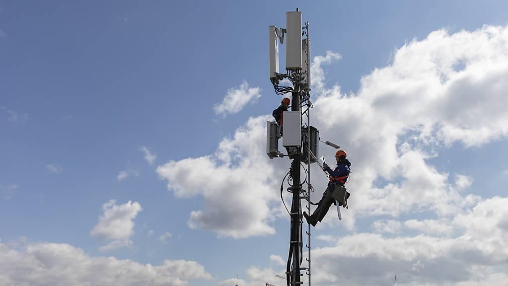 Funkmastengeschäft der Deutschen Telekom: Insider schätzen den Wert des Geschäfts auf bis zu neun Milliarden Euro. (Symbolbild)