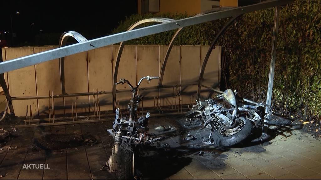 1. August: Mehrere Unfall-Brände, aber wohl auch Brandstiftung