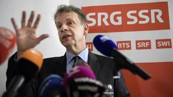Kann trotz Nein zu «No Billag» nur kurz aufatmen: Gilles Marchand, Generaldirektor, steht mit seiner SRG weiter unter Druck.