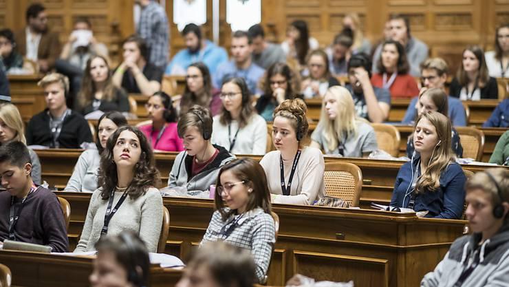 Die Jugendsession soll weiterhin eher der Bildung als der politischen Einflussnahme dienen. (Archiv)