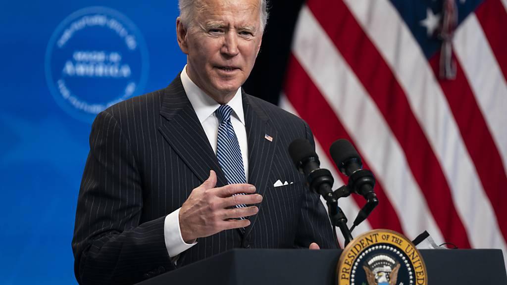 Biden will stärker auf Kauf amerikanischer Produkte setzen