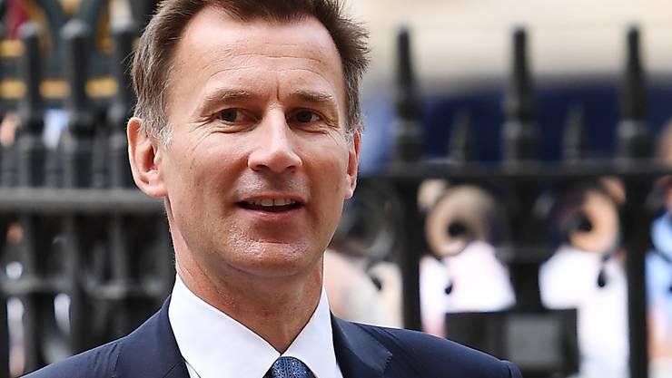 Der bisherige Gesundheitsminister Jeremy Hunt wird neuer britischer Aussenminister. (Archivbild)