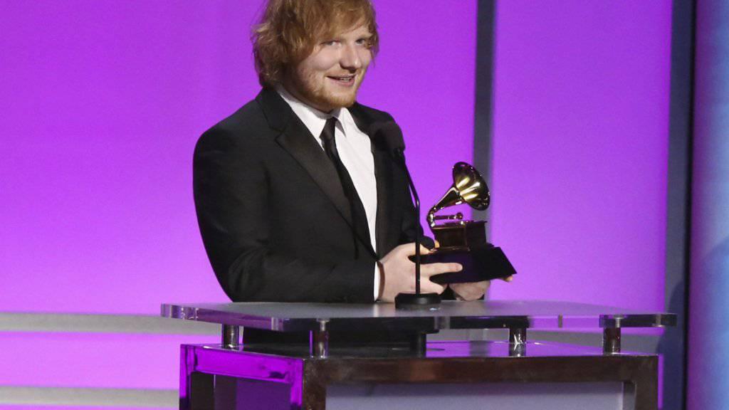 Hat erneut eine Klage wegen Plagiats am Hals: der britische Starmusiker Ed Sheeran. (Archivbild)