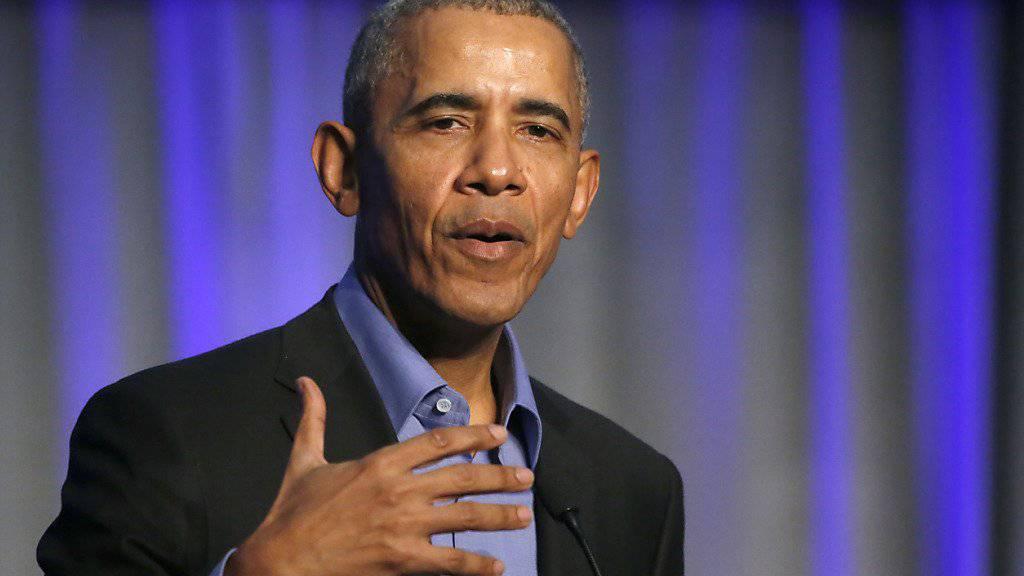 Der ehemalige US-Präsident Barack Obama wird in den USA am meisten bewundert - noch vor dem aktuellen Präsidenten Donald Trump. (Archivbild)