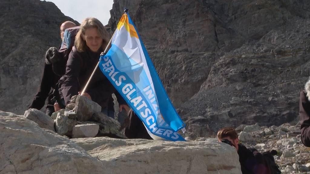 Trauerfeier für den Pizol-Gletscher