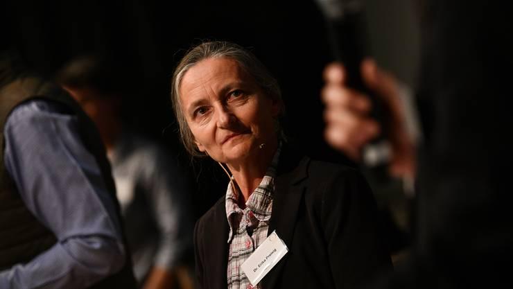 Sterbebegleiterin Erika Preisig würde mit ihrer Stiftung gerne nach Flüh ziehen.