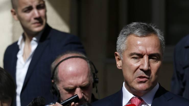 Hätte gestürzt werden sollen: Montenegros Premierminister Milo Djukanovic. (Archiv)