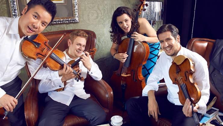 Das Stradivari Quartet (Foto: ZVg)