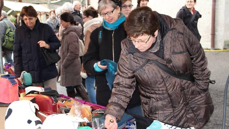 Impressionen vom Adventsmarkt in Baden
