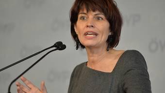 Energieministerin Doris Leuthard: Sie erhofft sich Chancen für Schweizer Cleantech-Firmen in Grossbritannien. Das Land steht bei der Energiewende vor besonders grossen Herausforderungen (Archiv).