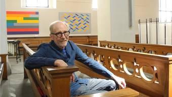 Es sei ein sehr spannendes und intensives Projekt gewesen, sagt René Gubelmann über seine neuste Ausstellungsarbeit.