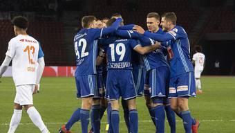 Die Luzerner holen im zweiten Spiel unter dem neuen Trainer Thomas Häberli zum ersten Mal