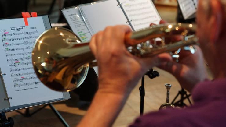 Der Name der Blaskapelle rührt vom gleichnamigen Musikstück her. Dominic Kobelt